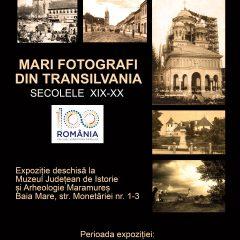 """Expoziţie temporară ,,Mari fotografi din Transilvania. Secolele XIX-XX."""""""