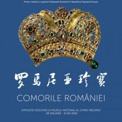 """Expoziţie eveniment în China: """"Comorile României"""""""
