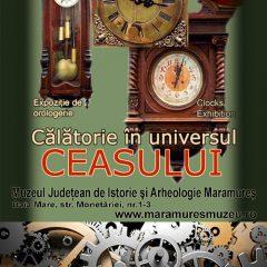 Călătorie în universul ceasului. Colecţia de orologerie