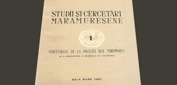 Cercetările de la Onceşti din Maramureş